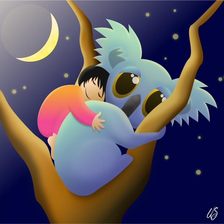koala_and_girl