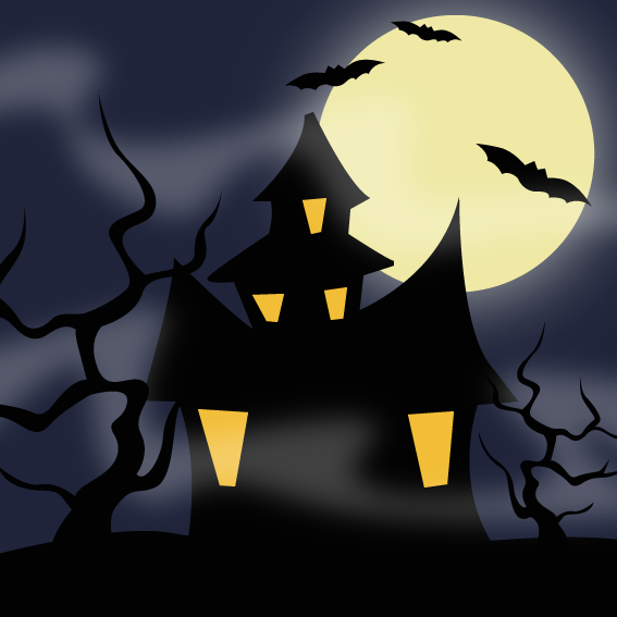 Stock Illustration Haunted House Background Creepy Halloween Image44300822 besides House Design Sketch Illustration With Silhouette Style 6823761 together with House Silhouette Clip Art moreover Spooky Haunted House Artworks besides Halloween Coloring Pages Haunted House. on old scary halloween houses clip art