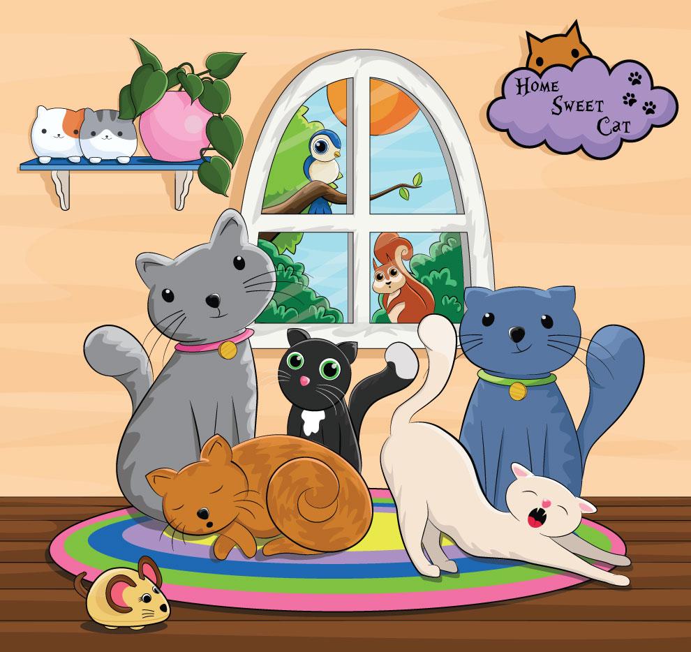 Sunny-Cats