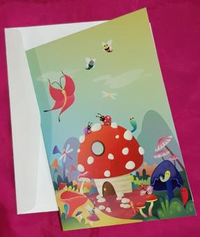 Mushroom-House-card